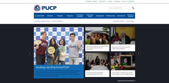 estudiar diseño gráfico Pontificia Universidad Católica del Perú