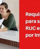 Requisitos para sacar RUC en Perú por Internet