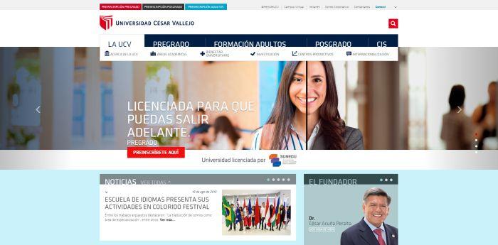 estudiar diseño grafico en la Universidad César Vallejo