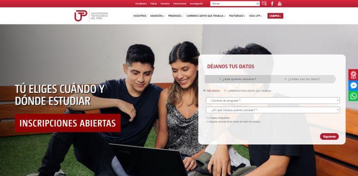 estudiar diseño grafico en Universidad Tecnológica del Perú