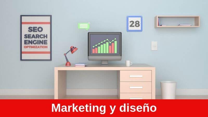 carreras de marketing o diseño se pagan muy bien