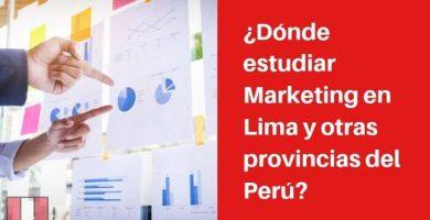 donde estudiar marketing