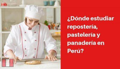 donde estudiar reposteria pasteleria