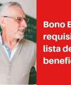 bono escuela requisitos y lista de beneficiarios