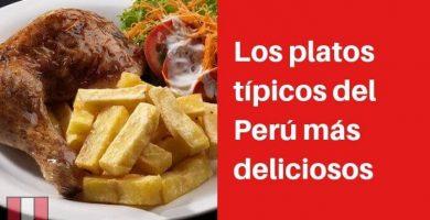 platos tipicos peru
