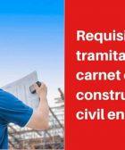 requisitos tramitar el carnet de construcción civil en Perú
