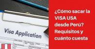 como sacar visa usa en peru