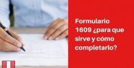 formulario 1609