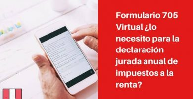 formulario 705 virtual