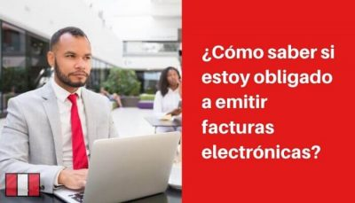 lista de obligados a emitir facturas electronicas peru
