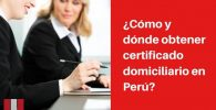 obtener certificado de domicilio requisitos