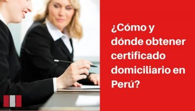 obtener certificado de domicilio requisitos
