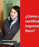 inei certificado