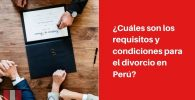 requisitos para divorcio peru