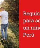 ¿Cuáles son los requisitos para adoptar un niño en Perú?