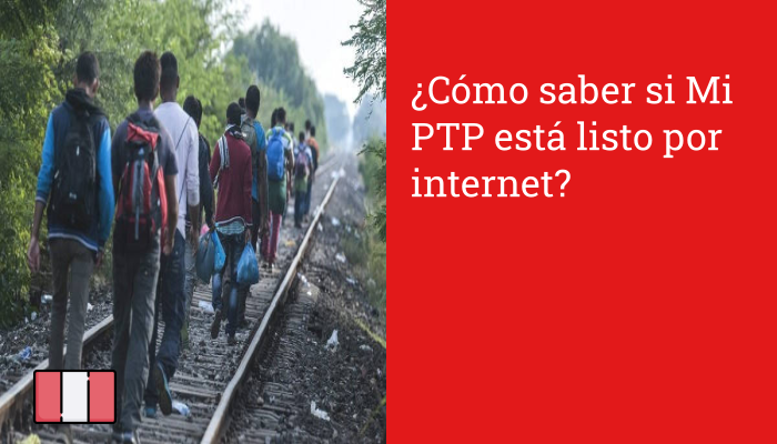 ¿Cómo saber si Mi PTP está listo por internet?