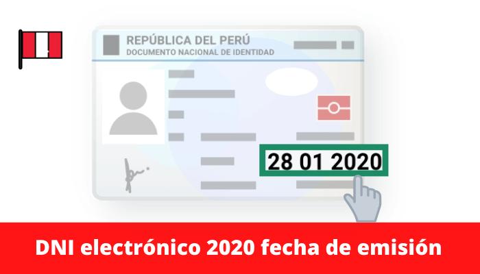 dni electrónico 2020