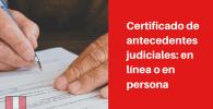 antecedentes judiciales peru