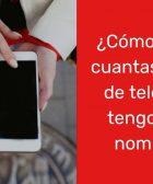 ¿Cómo saber cuántas lineas de teléfono tengo a mi nombre en Perú?