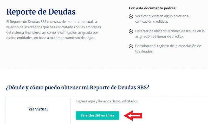 Cómo saber si estoy en Infocorp mediante SBS con mi DNI gratis