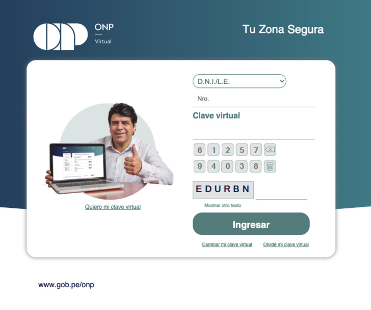 Portal Virtual ONP
