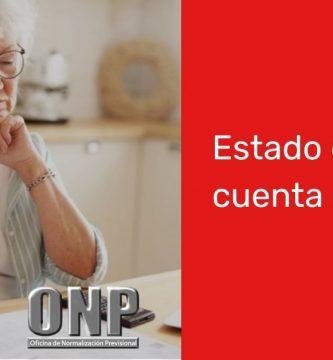 Consultar Estado de cuenta ONP
